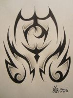 Tribal Tattoo Design 2 by blackbutterfly006