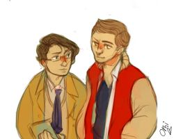 more spn highschool AU things by ophilino
