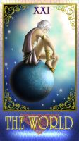 DN Tarot -The World- by Luvelia