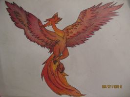 Pheonix 2 colored by drakeo1903