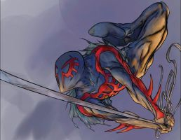 Spider-man 2099 by RobPaolucci