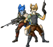 So This is Starfox. by legathin