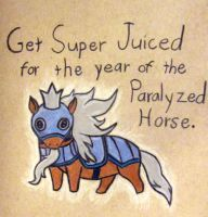 Year of the Paralyzed Horse by whatonearth