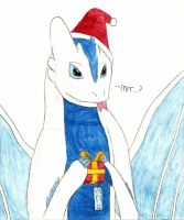 X-Mas Gift: Gueco Spreads the Joy of Giving! by GizmoTheDragon