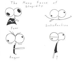 The Many Faces of Stupidity by ApolloNui