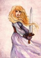 Eowyn of Rohan by aegia