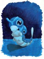 Blue Caterpie by Synchro593