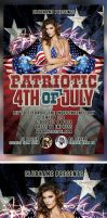 4th of July Flyer Template by bouzix