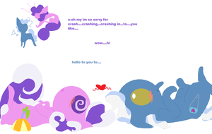 Pokeyball First Meeting by angelstar000
