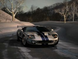 Ford GT Racer by mikebontoft