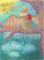 The Flying Mouse by tymime