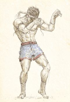 Muay Thai by Kimsiang