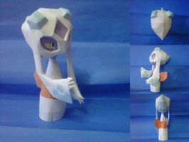 frosslass papercraft by turtwigcuTey