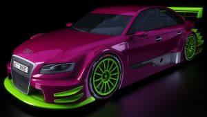 Audi A4 Front by SamCurry