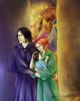 Snape Lily - Cautious Safety by artisteri