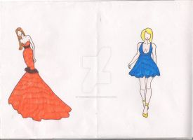 Two dress 5 by TwiixKiinder