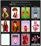 2015 Art Summary! by DoodleStruck