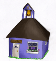 Converted Schoolhouse by Kalietha