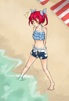 HH - Manami swimming suits by chaisuke