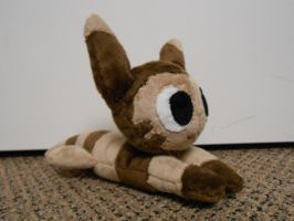 Furret plush by theamazingwrabbit
