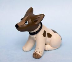 Tri dog sculpture commission by SculpyPups