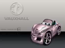 Vauxhall Pixar style by df15
