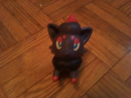 My Zorua Toy by uchiha-fan-girl