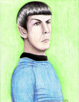 Mr. Spock by kayori
