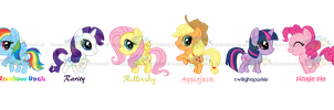 MLP_FIM_Charms by wanabiEPICdesigns