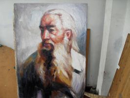 old chinese master by curryQ