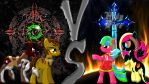 Pony Kombat Clash Final Battle by Mr-Kennedy92