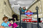 Lost In London by FoxFlight-Studio