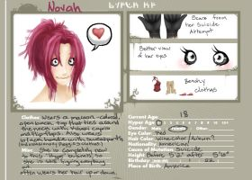 Novah Character Sheet by Xeinzeru