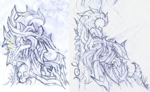 CStyle.BioMorphed1-2.Sketch by c0nr4d