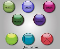 Glass Window Buttons by gebbytoo