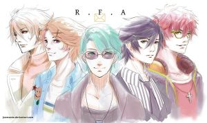 We Welcome You to R.F.A by Jcomaeda