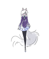 draw ur cat in a dress day by littlenicky