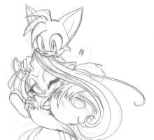 Celeste and Tails by Condescensational