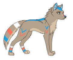 .:Wolf Adopt 2:. {Closed} by Flovvers