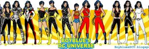 Evolution Donna Troy / Wonder Girl / Troia by BoybluesDCU