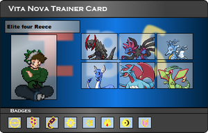 I.B.S Trainer Card - Reece by JonicOokami7