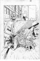 Witchblade #151 p.05 -Diego Bernard and Fred Benes by comiconart
