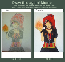 Redraw this again~ by Lemonthrower