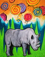 Rhino of the Land by Lydia-distracted