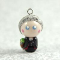 Twelfth Doctor charm by TrenoNights