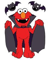 Free Sketch - Count Elmo by happymonkeyshoes
