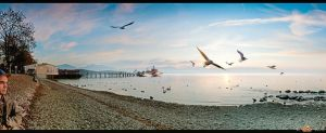 Chiemsee-Sunset HDR Tonemapping by Squadz2000