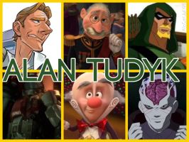 Alan Tudyk Characters by PhantomEvil