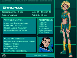 Whirlpool: Character Profile by Glee-chan