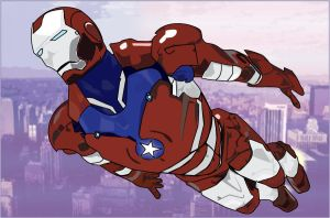Star Spangled Tony by Kirwin85